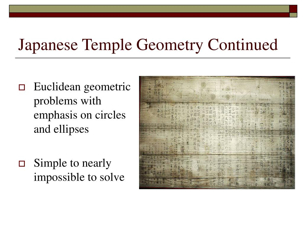 Japanese Temple Geometry Continued
