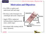 motivation and objectives