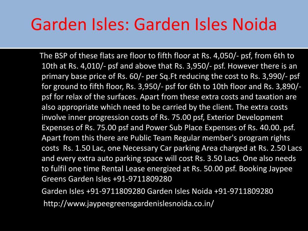 Garden Isles: Garden Isles Noida