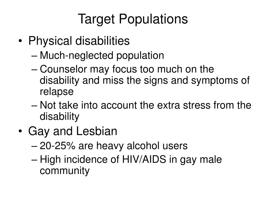 Defining Your Target Population