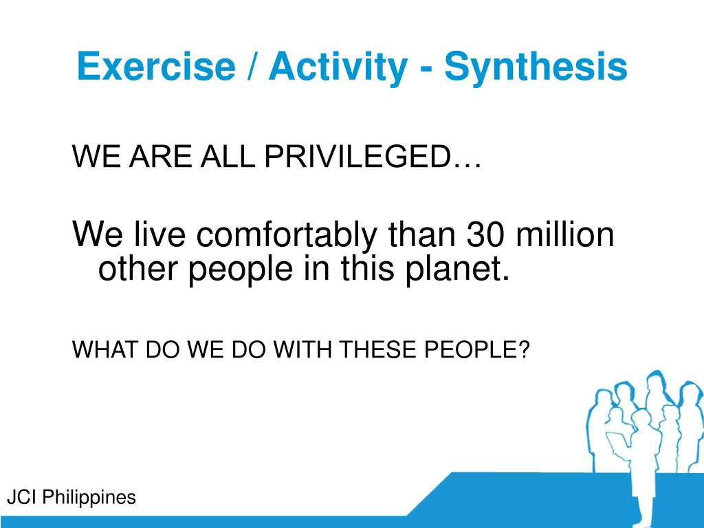 Exercise / Activity - Synthesis