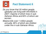 fact statement 6