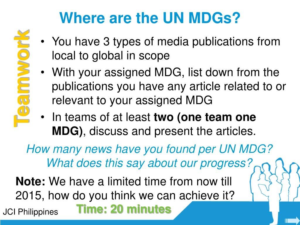 Where are the UN MDGs?