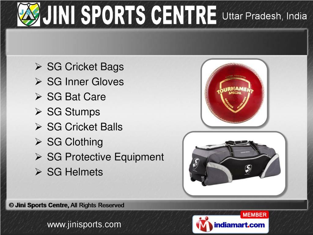 SG Cricket Bags
