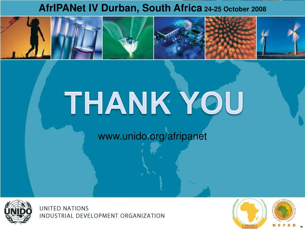 AfrIPANet IV Durban, South Africa