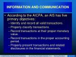 information and communication44
