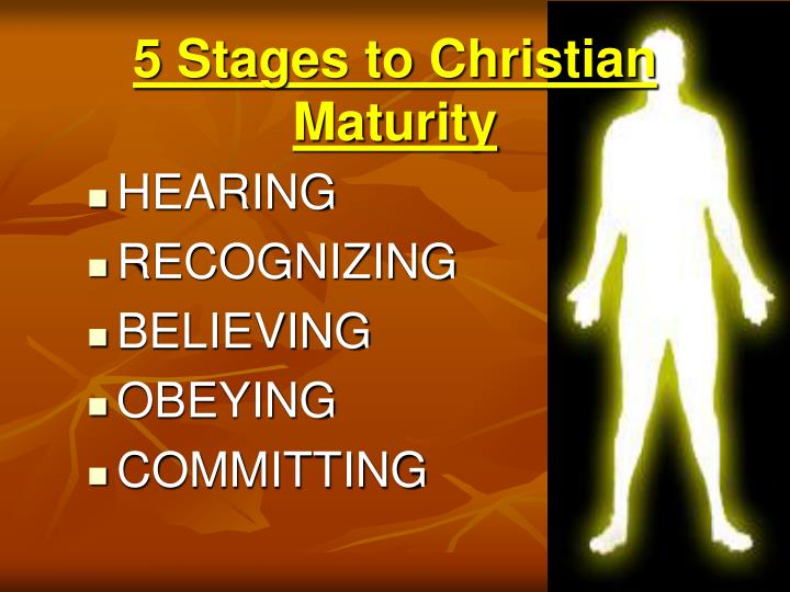 5 stages to christian maturity l.jpg