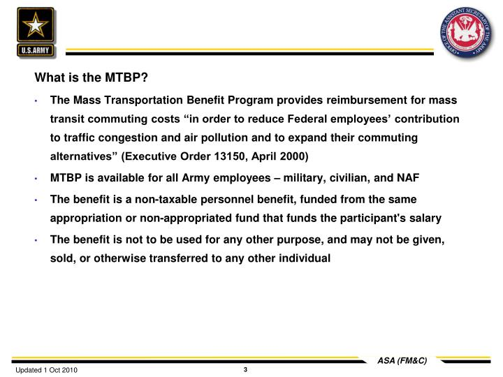 What is the MTBP?