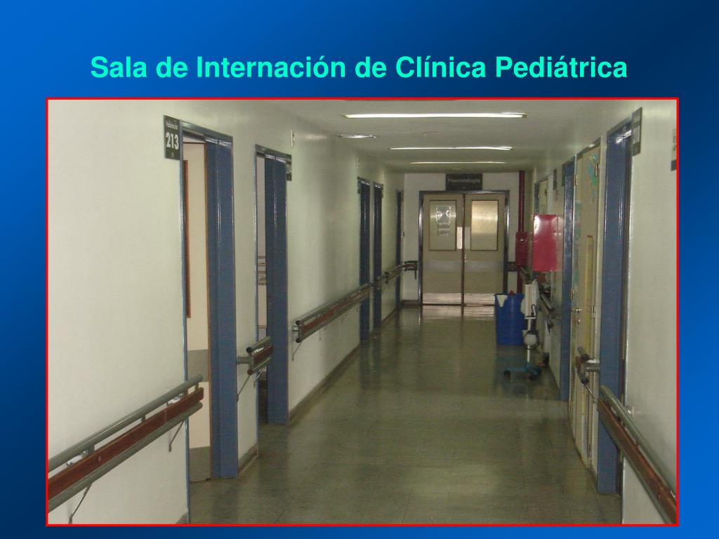 Sala de Internación de Clínica Pediátrica