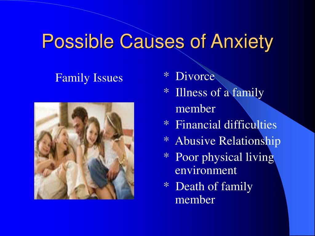 Possible Causes of Anxiety