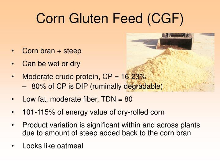 Corn Gluten Feed (CGF)