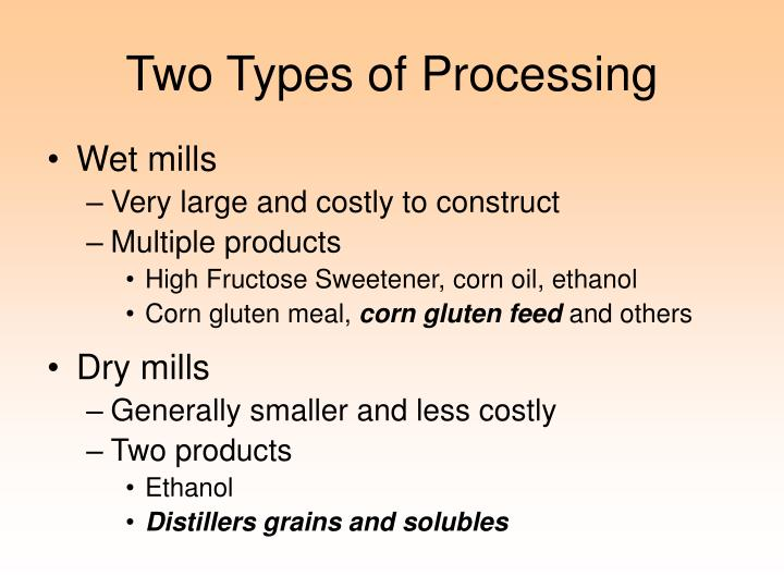 Two Types of Processing