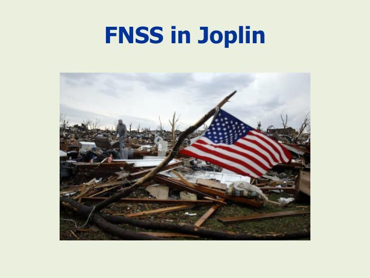 FNSS in Joplin