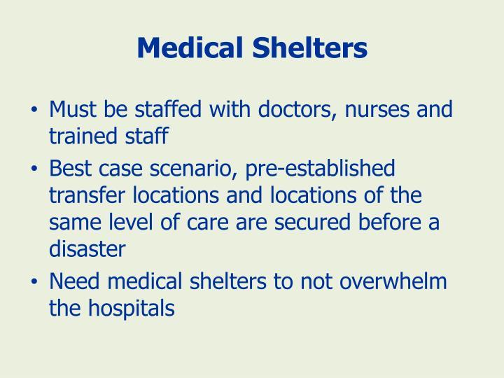 Medical Shelters