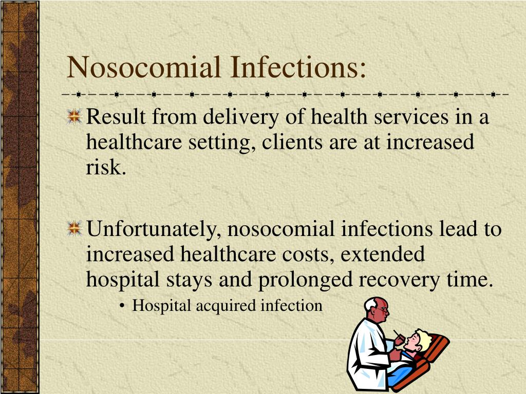 Nosocomial Infections: