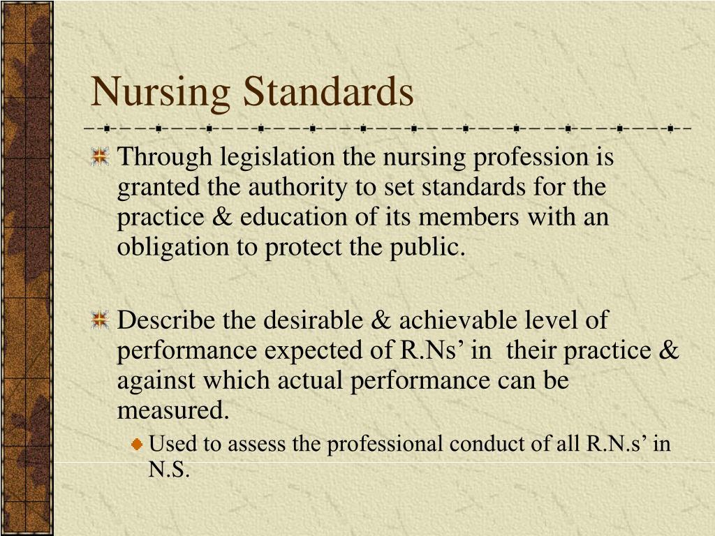 Nursing Standards