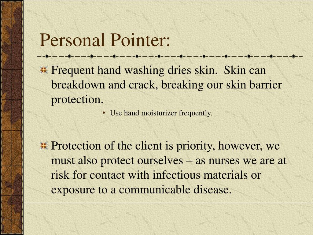 Personal Pointer: