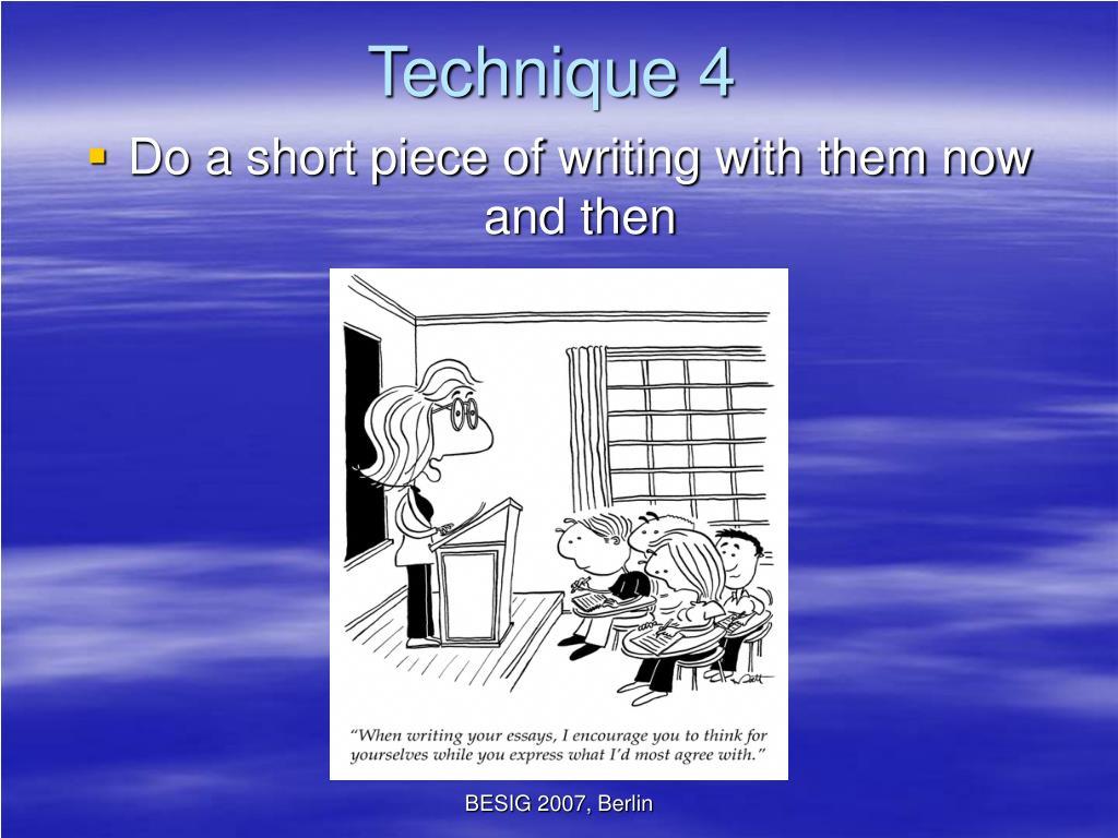 Technique 4