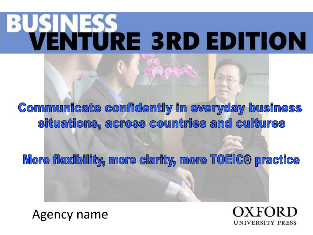 Communicate confidently in everyday business