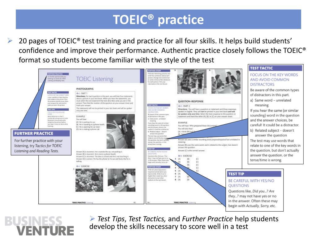 TOEIC® practice