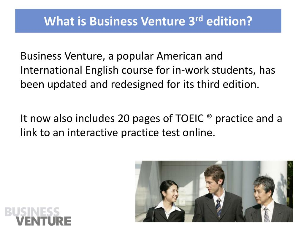What is Business Venture 3