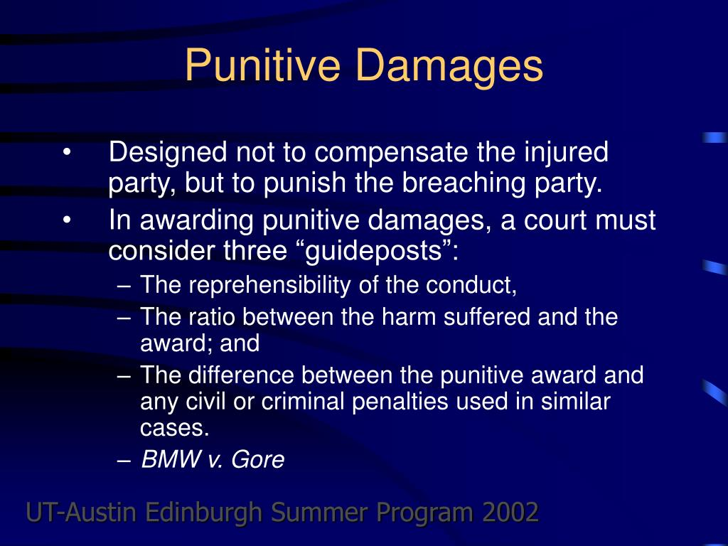 Punitive Damages