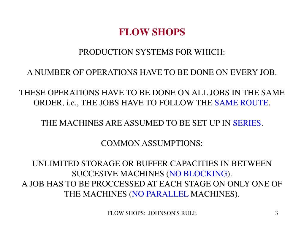 FLOW SHOPS
