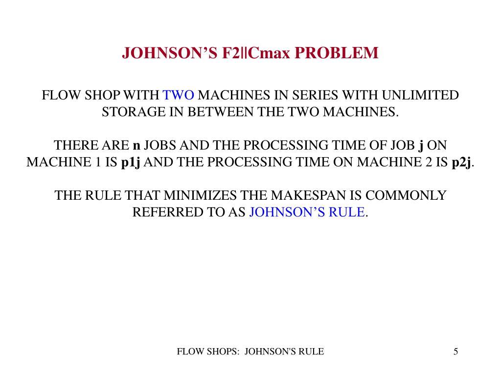 JOHNSON'S F2