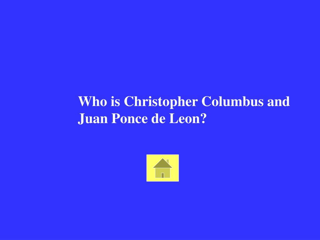Who is Christopher Columbus and