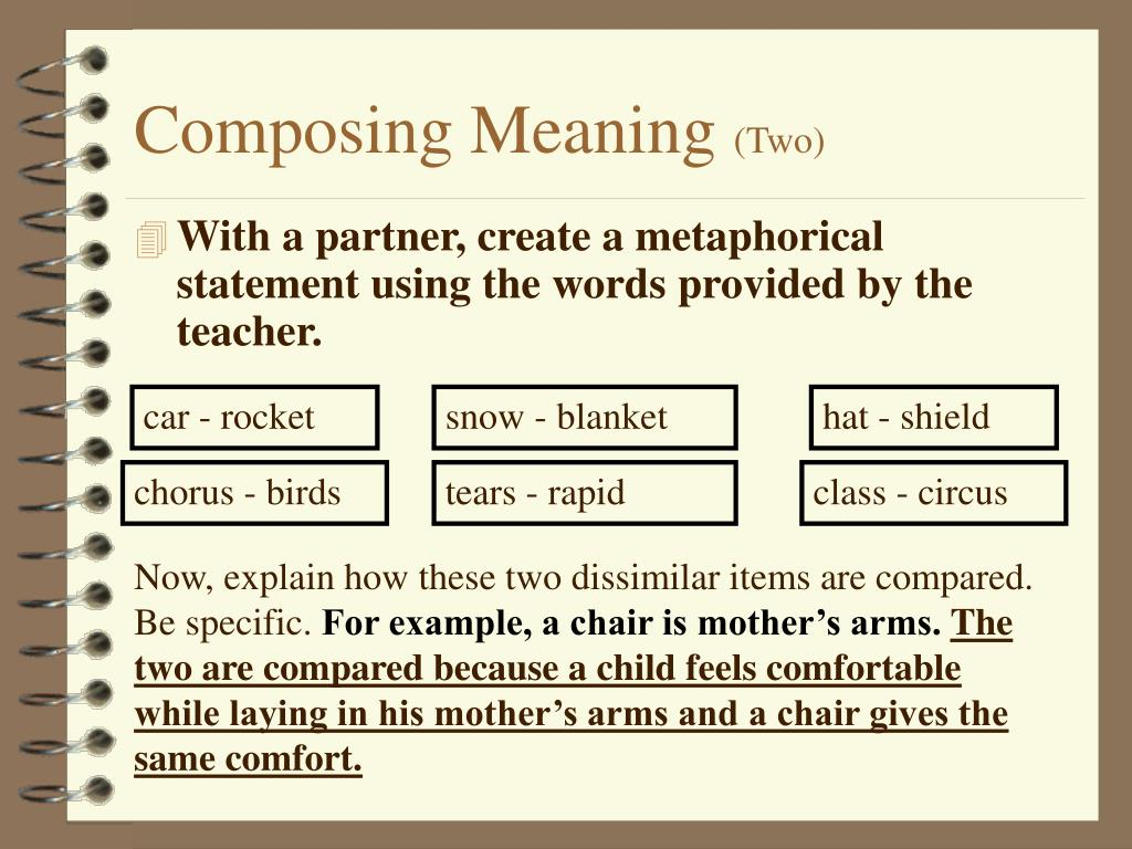 Composing Meaning