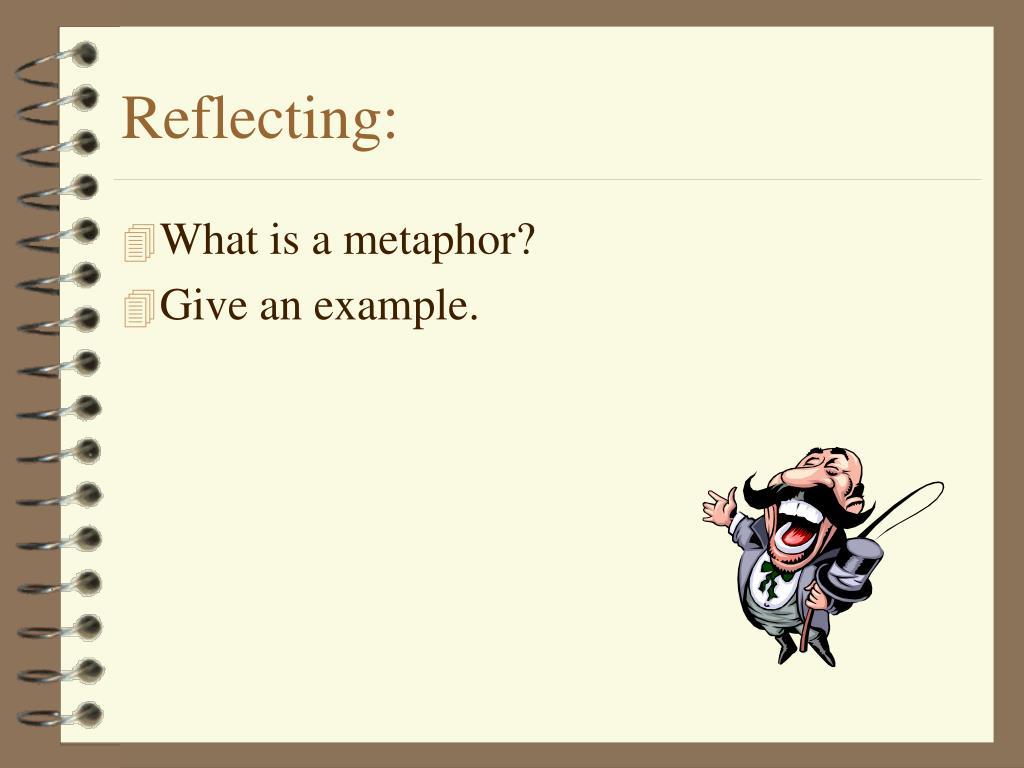 Reflecting: