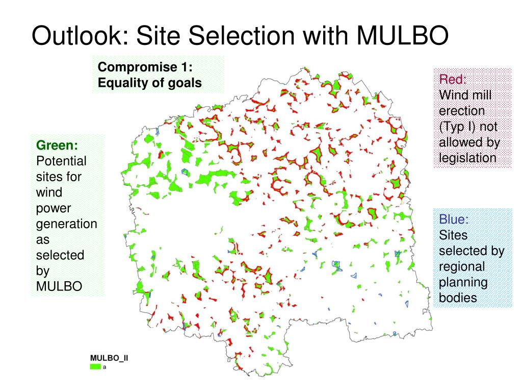 Outlook: Site Selection with MULBO