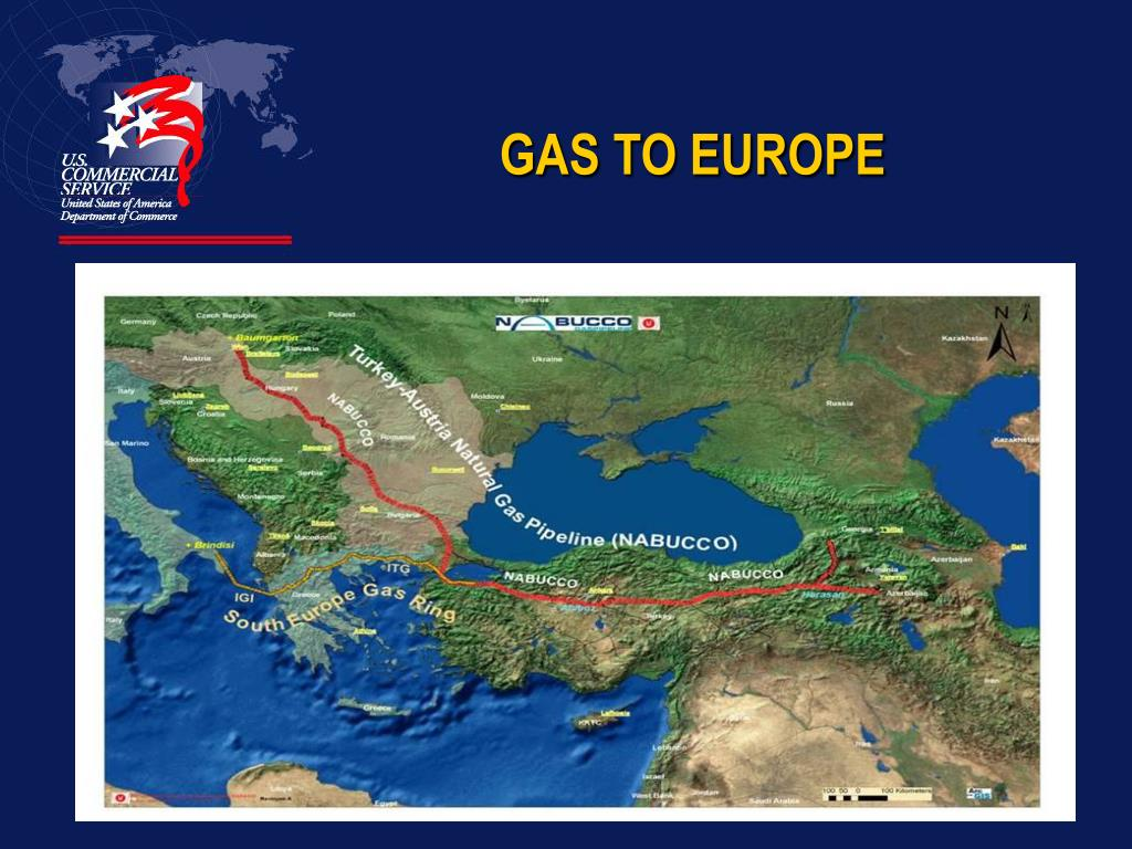 GAS TO EUROPE