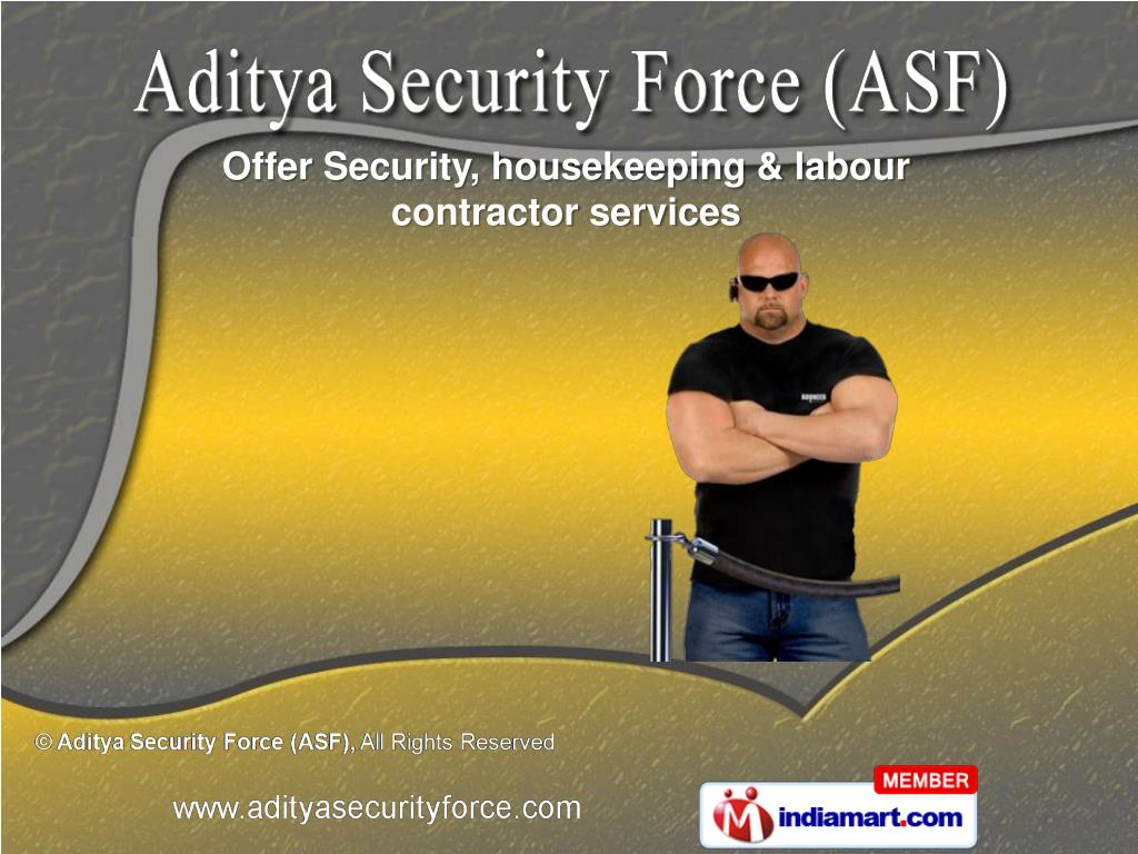 Offer Security, housekeeping & labour contractor services