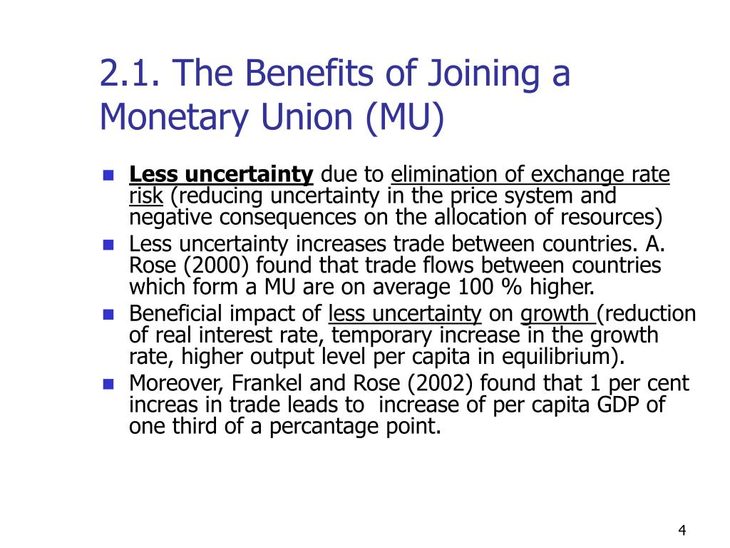 should canada join a monetary union