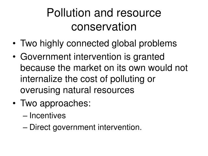 Pollution and resource conservation l.jpg