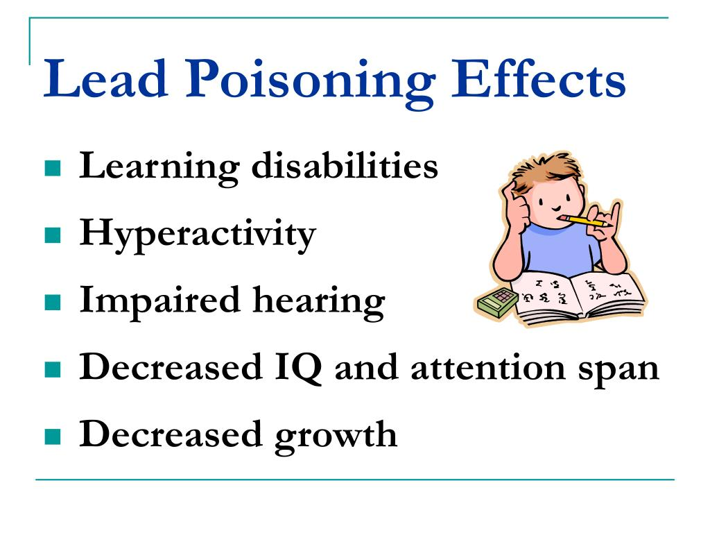 PPT - Lead Poisoning Prevention PowerPoint Presentation ...