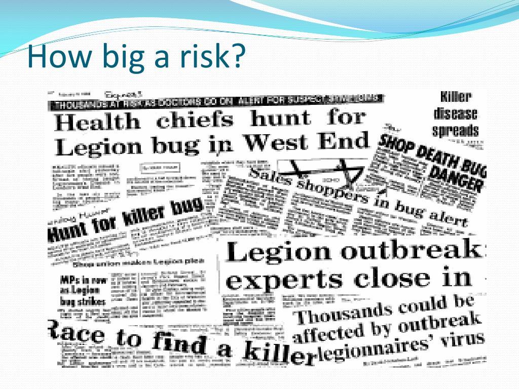 How big a risk?