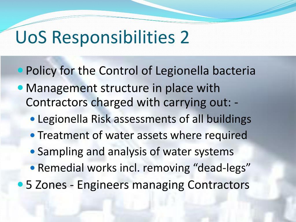 UoS Responsibilities 2