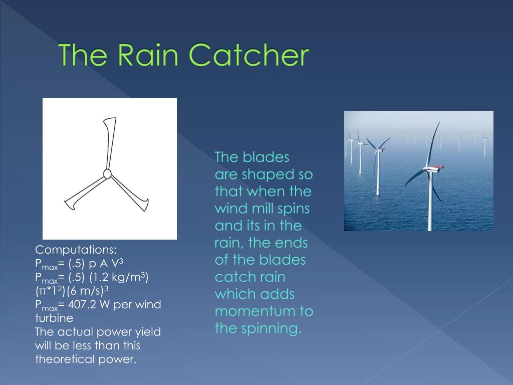The Rain Catcher
