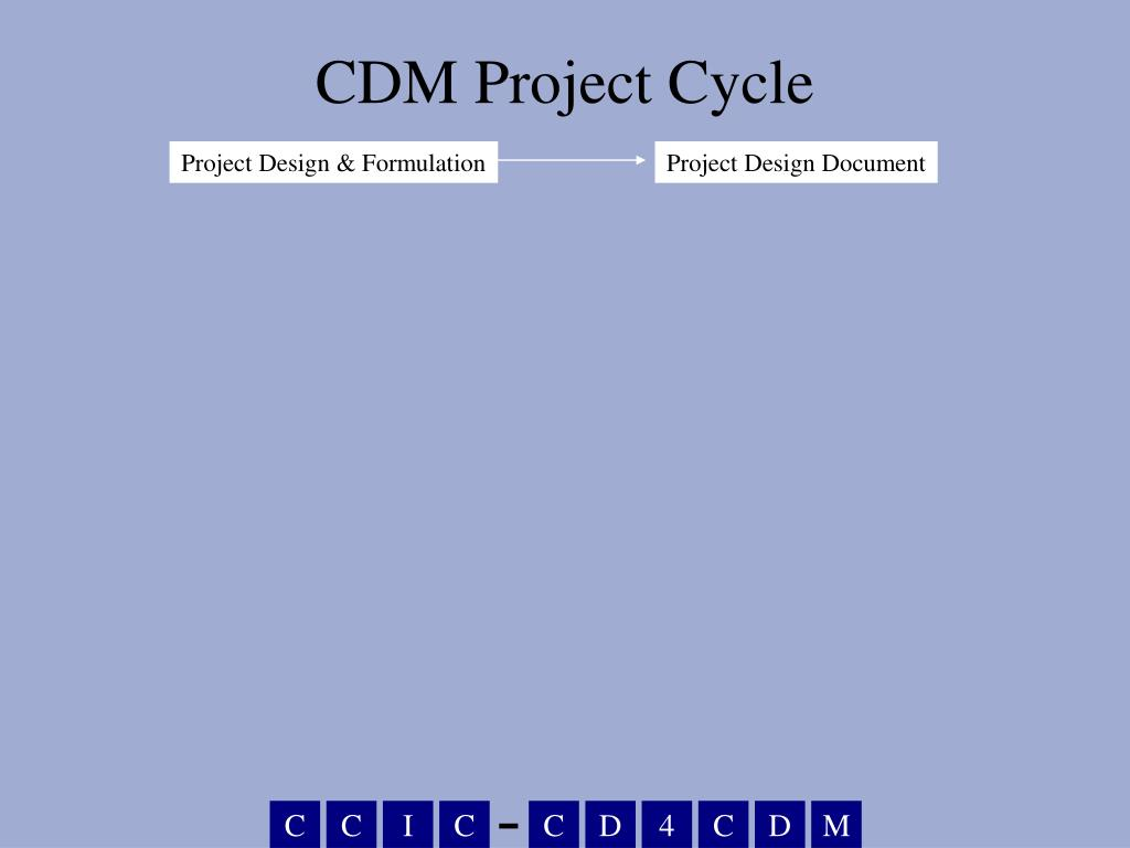 CDM Project Cycle