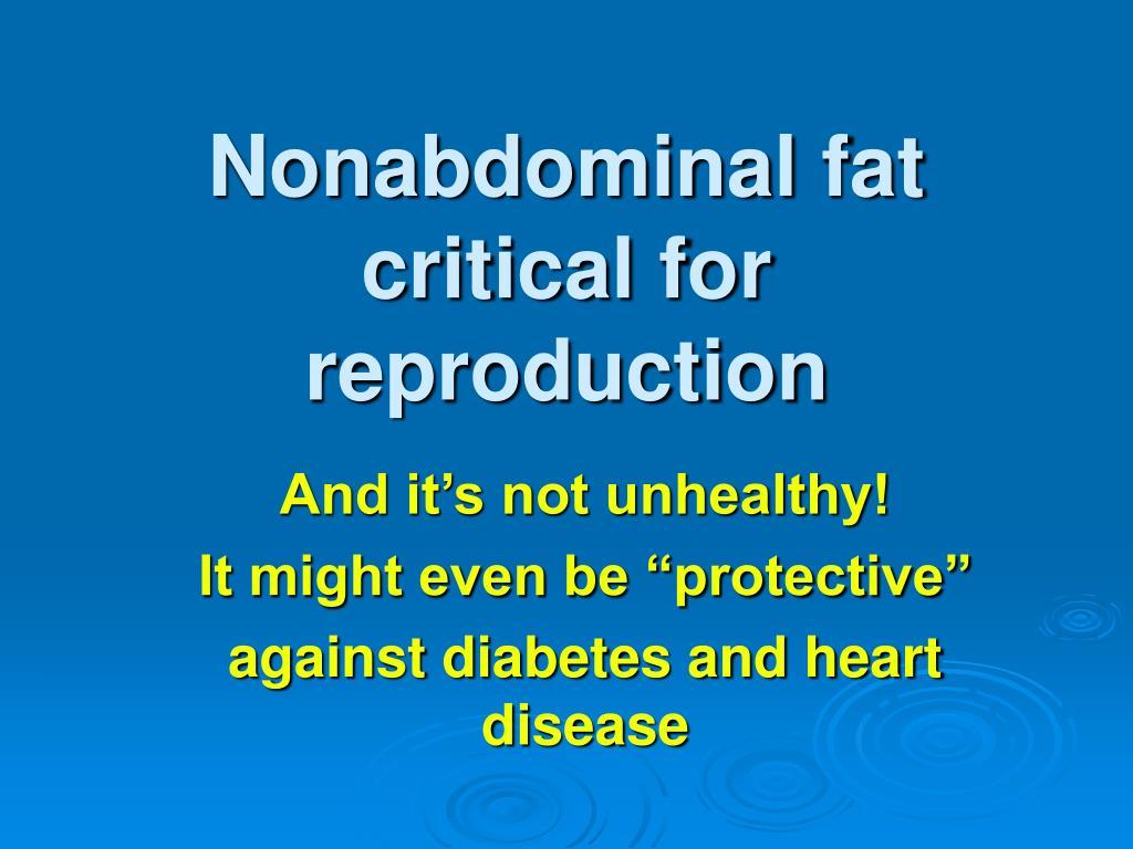 Nonabdominal