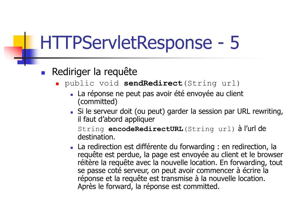 HTTPServletResponse - 5