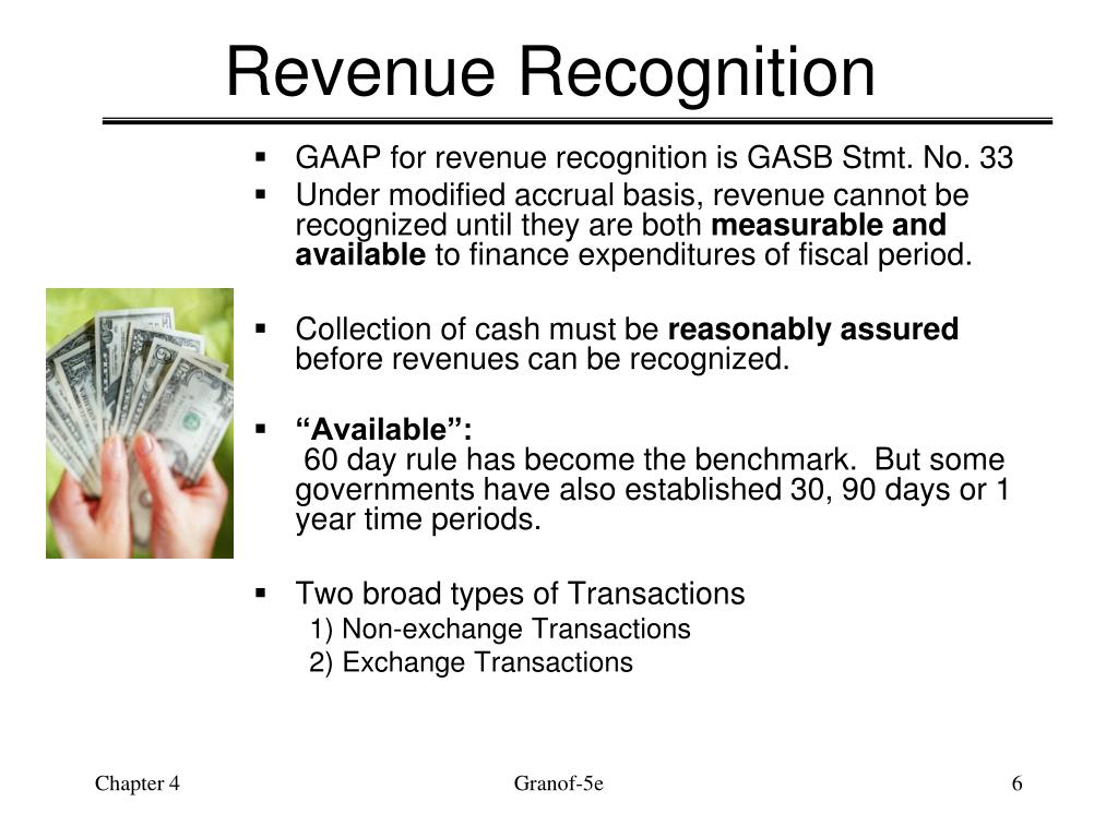 how to recognize revenue in accounting