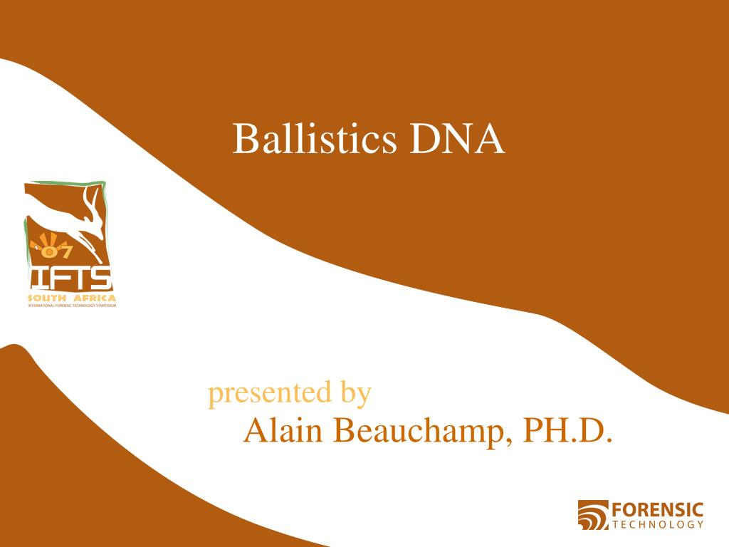 Ballistics DNA