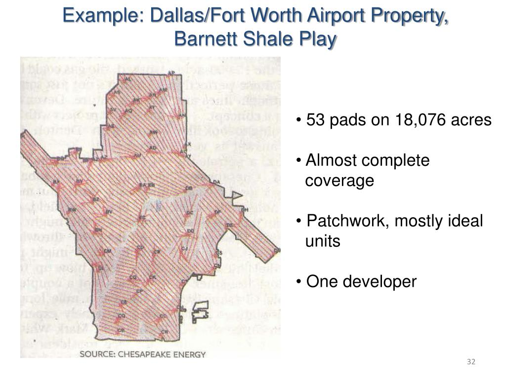Example: Dallas/Fort Worth Airport Property,