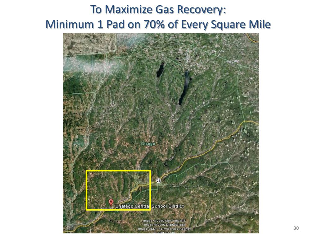 To Maximize Gas Recovery: