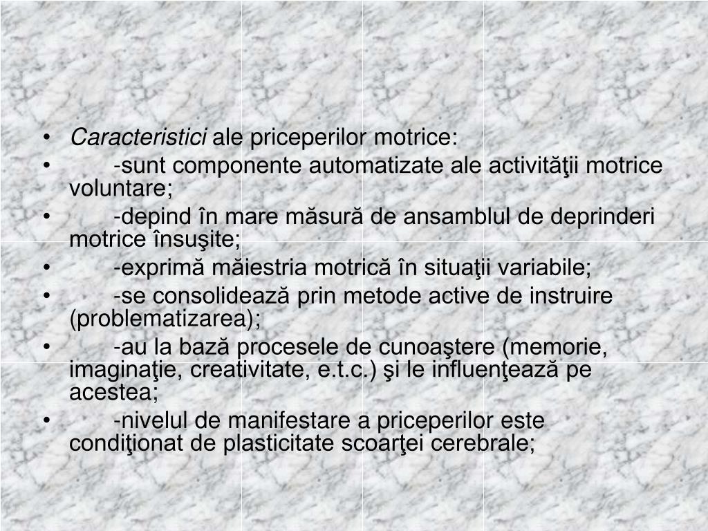 Caracteristici