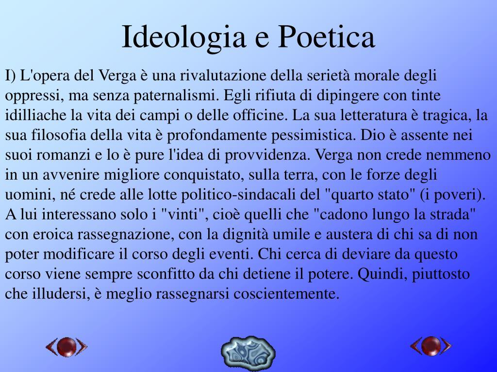 Ideologia e Poetica