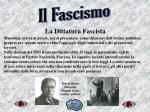 la dittatura fascista